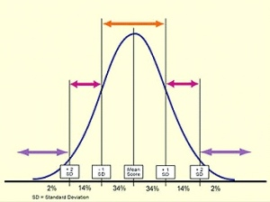 blank bell curve